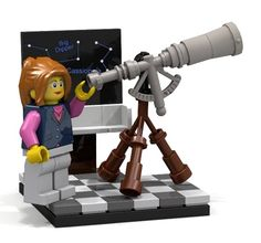 The new LEGO minifigs featuring female scientists