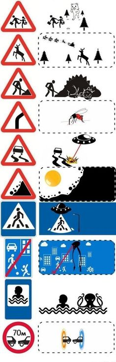 Things you don't know about traffic signs