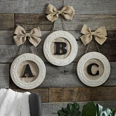 Shop Kirkland's collection of 'Monogram Gifts' this season and surprise family and friends with a personalized present. The 'Round Distressed Cream Monogram  Framed Plaque' is an item they'll enjoy all year around!