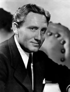 Spencer Tracy - I have several classic film actors I like and admire but Mr. Tracy is by far my favorite of all.
