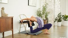 King Pigeon Pose is about balancing stability and fluidity, in both your body and mind. Grab a strap, folding chair, and blanket and let's get started!