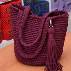 Crochet purses and handbags or authentic crochet handbags on sale then visit internet site above simply press the grey link for more details ladiesdesignerbagsdesignerhandbag bestcrochethandbag – Artofit 103 the best of trend crochet bag patterns ideas Crochet Backpack, Crochet Clutch, Crochet Handbags, Crochet Purses, Backpack Tutorial, Backpack Pattern, Love Crochet, Crochet Baby, Crochet Stitches