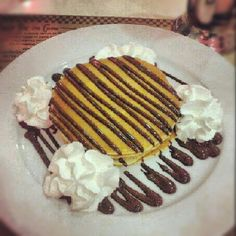Tortitas con chocolate de peggy sue's