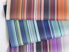 Stripes Fabric Collection by Irma Boom for KnollTextiles