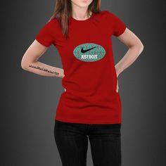 Nike Just Do It Tribal  Unisex Short Sleeve Jersey T-Shirt