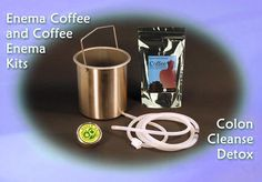 Colon Cleansing Products | Enema Equipment, Supplies, and Colon Cleansers  This colon cleanse coffee enema kit comes with our high-quality, 4-quart, 300-series stainless steel enema can with a thin, invisible layer of chrome-containing oxide to protect the steel from scratching or rusting.