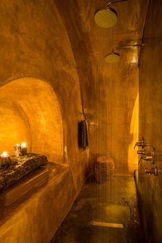 View the full picture gallery of Artemis Suite Moroccan Bathroom, Bathroom Spa, Bathroom Interior, Washroom, Bathroom Ideas, Dream Bath, Build Your Own House, Earth Homes, Artemis
