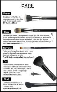Os segredos dos pincéis de maquiagem