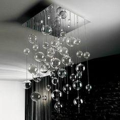 lampadario niagara : Projekt przedpokoju Inventive Interiors - Bia?o szary minimalistyczny ...