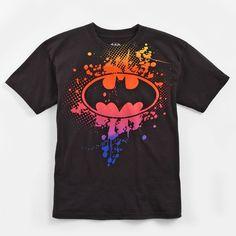 Tees   Batman Boys Paint Splatter Short Sleeve Tee   Shopko.com