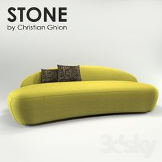 Stone Sofa by Christian Ghion