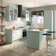 D co scandinave 50 id es pour d corer votre cuisine au - Buffet de cocina leroy merlin ...