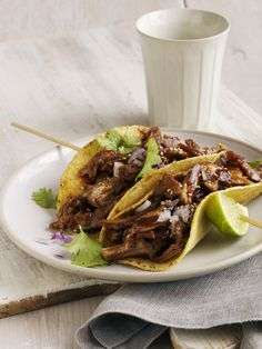 Turkey Mole Tacos by Joseph De Leo