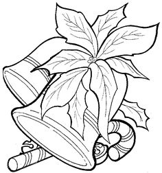 Learning Years: Christmas Bells coloring page - Christmas Bells