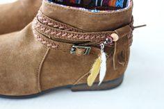 Feather Attachments DIY | Minnetonka Moccasin