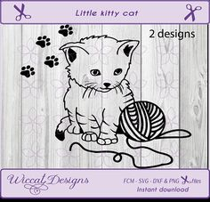 Line art svg, Kitten svg, cat svg, Little cat svg, pets svg, cat svg file, animals svg, cat design svg, svg cut file, dxf cut file, cat dxf, svg cricut I try to design the files in a way that they are easy to use. This design is only 2 layers. This digital download contains 1 zip file