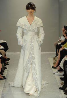 Image result for Valentino winter wedding