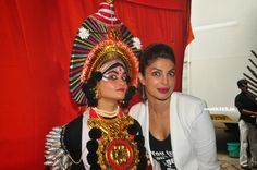 Bollywood Actress Priyanka Chopra at Jhalak Dikhhla Jaa 2014 to promote Hindi Movie 2014 Mary Kom. #PriyankaChopra
