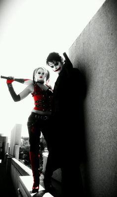 Joker and Harley Quinn.  This is prob my fav, so worth repinning again!