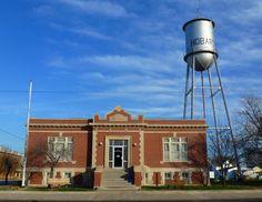 images of Hobart , Oklahoma | 2011_12-17_Hobart Oklahoma Carnegie Library