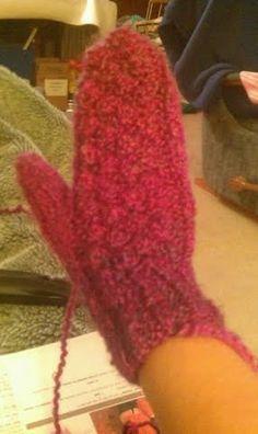 Bobbles mitten Fingerless Gloves, Arm Warmers, Mittens, Panda, Scarves, Hats, Fashion, Fingerless Mitts, Fingerless Mitts