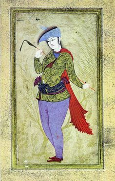 File:Reza Abbasi - Young man with the whip. 18 century
