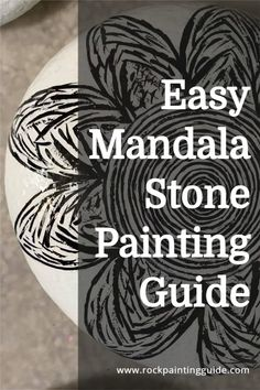 "In this ""Everything You Need To Know About Mandala Rock Painting (Beginner's Guide)"", you'll discover the joys of Mandala rock painting and gain confidence in your artistic ability. #mandala #rockpainting #paintedrocks"