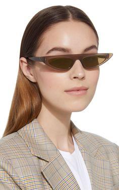 2ffdb3ce09 Florence Cat Eye Acetate Sunglasses by ANDY WOLF EYEWEAR Now Available on  Moda Operandi