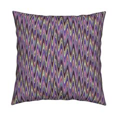 Catalan Throw Pillow featuring AFRICA ELEPHANT MARBLED PAPER ZIGZAG by paysmage | Roostery Home Decor