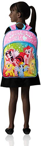 FAB Starpoint Little Girls' My Little Pony 16 Inch Backpack, Multi, One Size  - Click image twice for more info - See a larger selection of kids messenger bag at http://kidsbackpackstore.com/product-category/kids-messenger-bags/ - kids, juniors, back to school, kids fashion ideas, school supplies, backpack, bag , teenagers,  boys, girls  gift ideas,school bag,