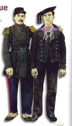 French; Marine and Matelot, Crimea 1854