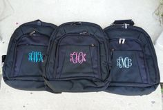 Carry Your Books in Style with a Monogrammed Backpack