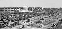 Estadio Chamartín, 1947. El Estadio de Chamartín se inauguró coincidiendo con las fiestas de San Isidro en 1924 - Portal Fuenterrebollo