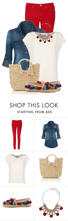 """""""#5523"""" by elda-1985 ❤ liked on Polyvore featuring Levi's, Alberto Biani, Barneys New York, Tory Burch and Miss Selfridge"""