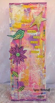 PaperArtsy: 2015 #3 Colour Canvas {by Lynne Moncrieff}