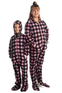 Hello Kitty Hooded S-M-XL Fleece Pajamas Union Suit One Piece Adult Jrs Women