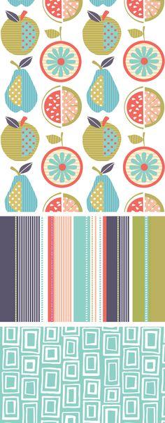 wendy kendall designs – freelance surface pattern designer » frutti