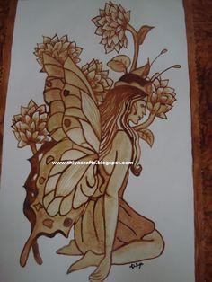 Coffee Painting Canvas, Canvas Painting Quotes, Bridal Mehndi, Mehendi, Pencil Drawings, Art Drawings, Indian Coffee, Shiva Art, Arabic Mehndi Designs
