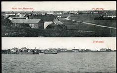 Ørlandet i Trøndelag Haarberg og Brekstad Chr. Jacobsen stemplet 1910