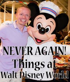 Disney World Tips | Learn from this EXPERIENCED Disney World Visitor (Tom Bricker of Disney Tourist Blog) | Things that you might want to think about twice before doing (especially when there are SO many other things you could do instead at Disney World)!