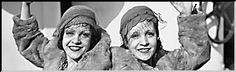 The Hilton twins aboard the SS Aquitania, arriving in New York City after a performance in England, October 6, 1933 (www.corbis.com)