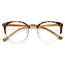 0bebb0e2ee Leslie Thin Round Clear Glasses - Brown Tortoise non-prescription clear  glasses… Brown Glasses
