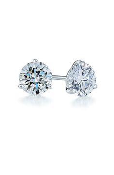 1ct tw Diamond & Platinum Stud Earrings  http://rstyle.me/n/dyke2pdpe