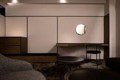 Image by Shinya Kigure Japan Room, Green Tower, Sou Fujimoto, Executive Room, Cantilever Chair, Gunma, Wood Shingles, Living Room Images, French Restaurants