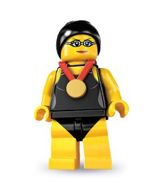 Black Friday 2014 Lego Series 7 Swimming Champion Mini Figure from LEGO Cyber Monday. Black Friday specials on the season most-wanted Christmas gifts. Swimming Champions, I Love Swimming, Lego People, Black Friday Specials, Lego Minifigs, Lego Figures, Plate Display, Lego Worlds, Swim Team