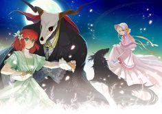 Mahou Tsukai no Yome (The Ancient Magus' Bride) Image - Zerochan Anime Image Board Sailor Moon, Kore Yamazaki, Elias Ainsworth, Chise Hatori, Best Romance Anime, Otaku, The Ancient Magus Bride, Fan Art, Kawaii