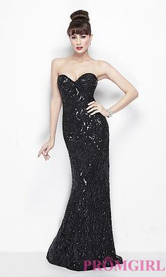 Strapless Sweetheart Formal Gown by Primavera at PromGirl.com