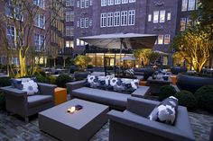 Courtyard: Sofitel Legend The Grand, Amsterdam @SofitelAMSGrand is a beautiful symphony.