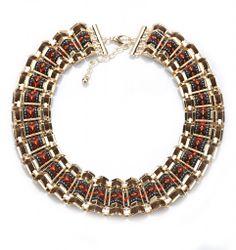 Colier metalic ondulat Beaded Bracelets, Necklaces, Metal, Jewelry, Jewlery, Jewerly, Pearl Bracelets, Schmuck, Metals