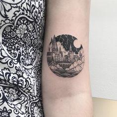 By Peta Hefferman Harry Potter Tattoos, Literary Tattoos, Ankle Tattoos, Body Art Tattoos, Small Tattoos, Tatoos, Geek Tattoos, Cat Tattoos, Arrow Tattoos